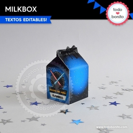 Star Wars: cajita milkbox