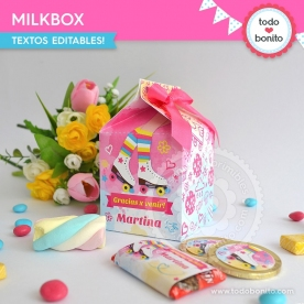 Patines: milkbox