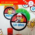 Pokémon: kit decoración