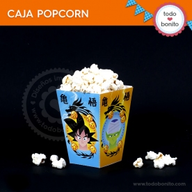 Dragon Ball: cajita popcorn