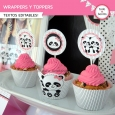 Pandita: : wrappers y toppers