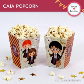 Harry Potter: cajita popcorn