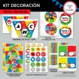 Avengers: kit imprimible decoración de fiesta