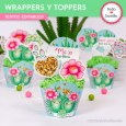 Cactus: wrappers y toppers