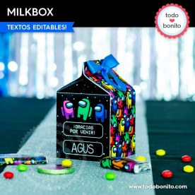 Among Us: milkbox