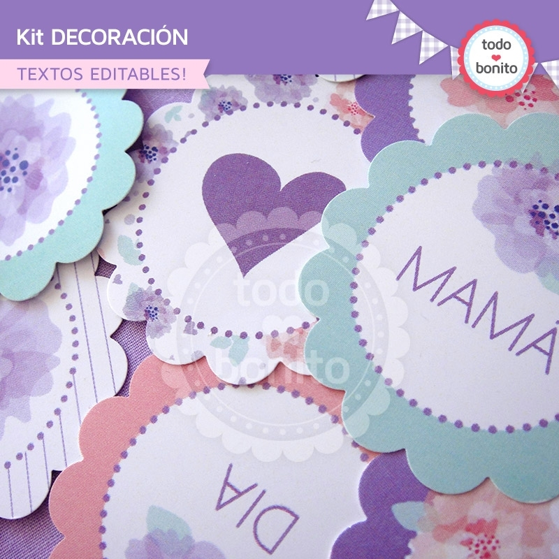 d a de la madre kit decoraci n todo bonito